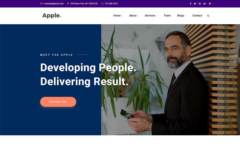 Apple - Multipurpose WordPress Theme