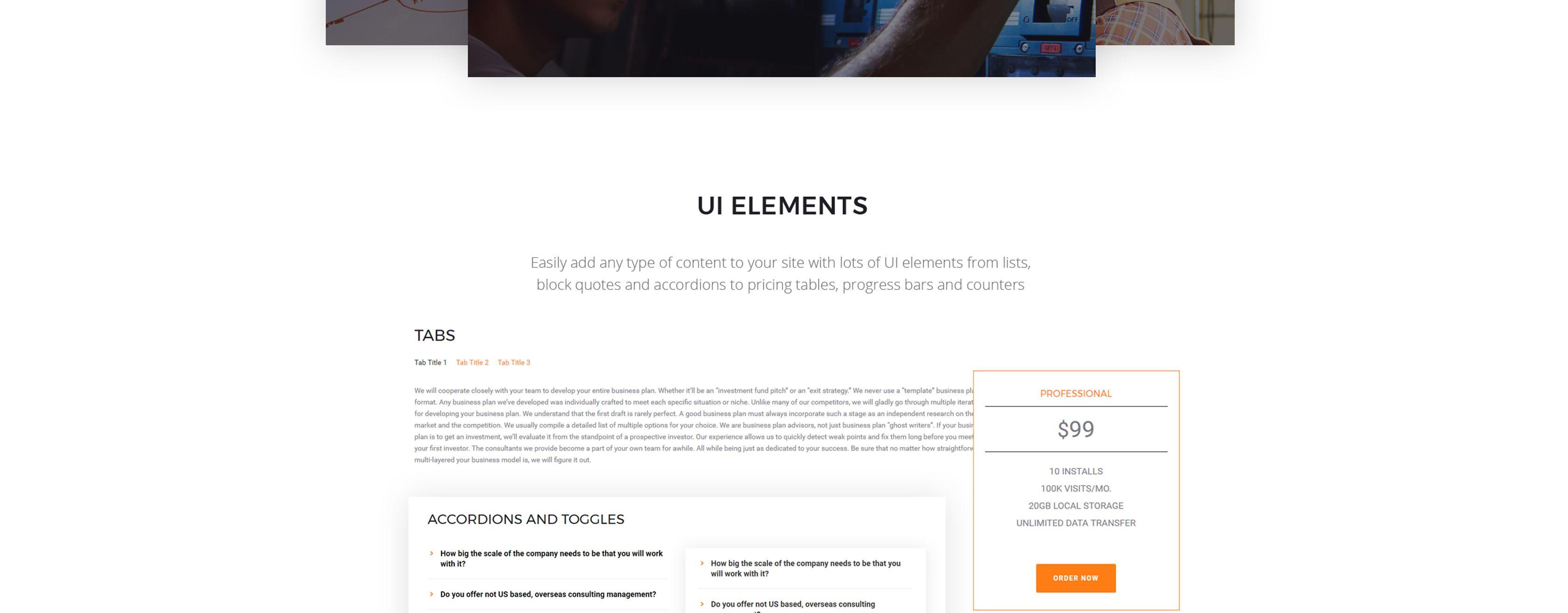 DigitalDIGGER - Electrical Services Joomla Template