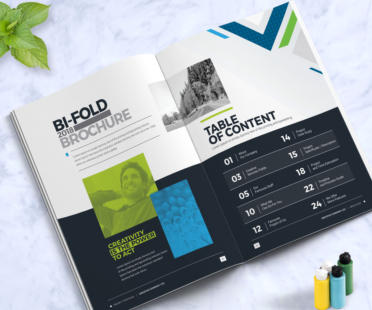 Business brochure design template indesign brochure company business brochure design template indesign brochure company profile annual report 2018 corporate identity maxwellsz