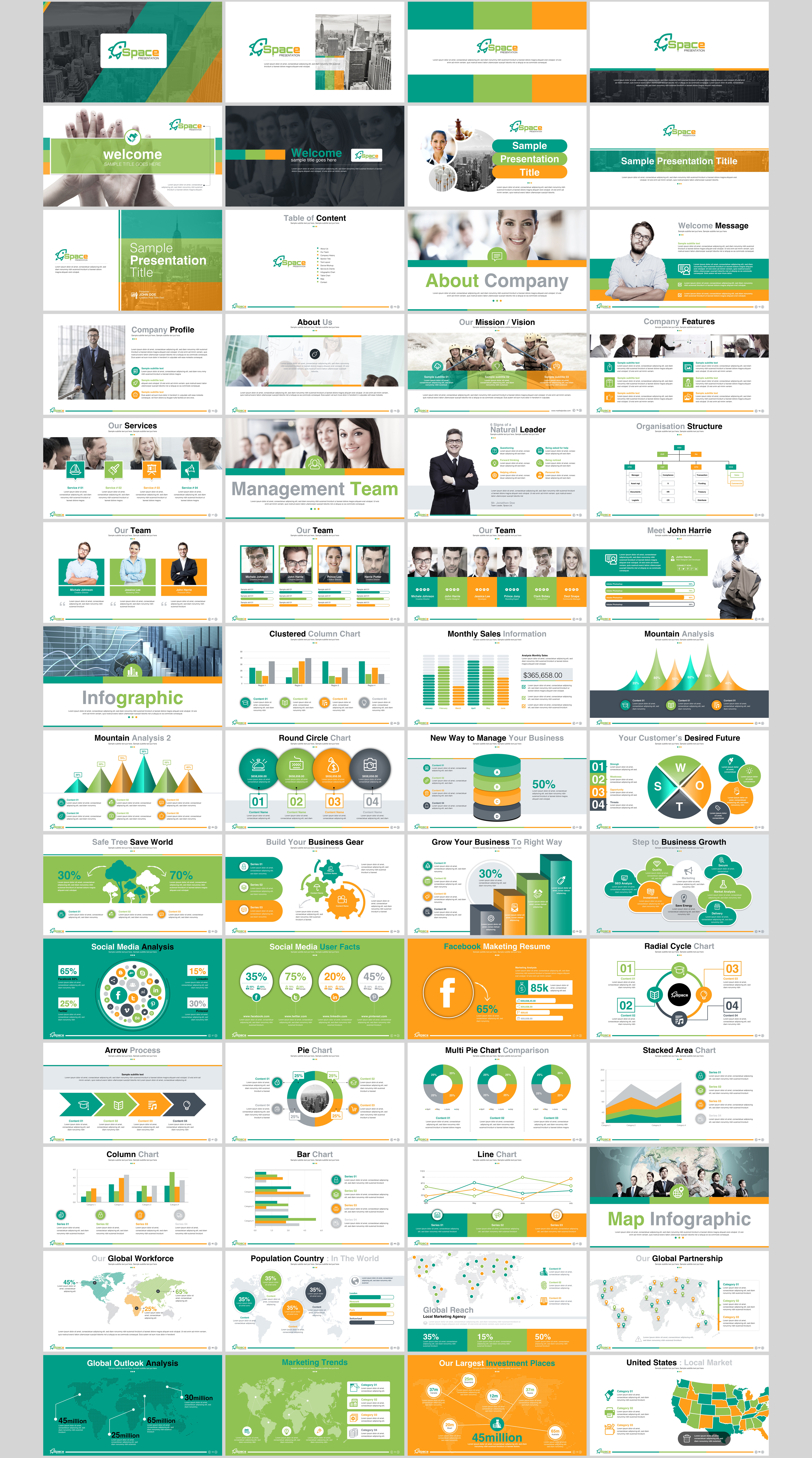Business Presentation - PowerPoint Template