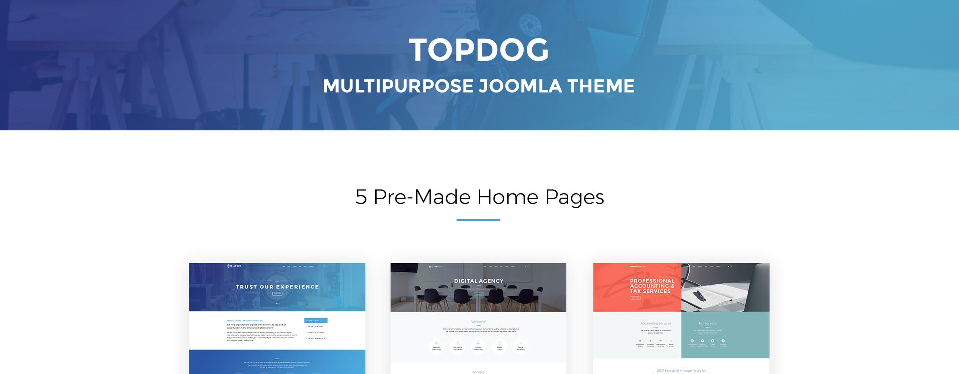 TopDog - Multipurpose Joomla Template