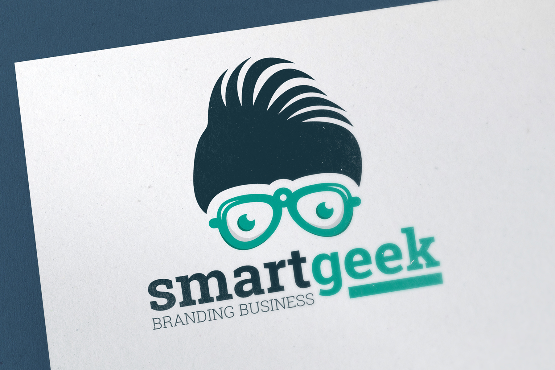 Smart Geek Fashion - Logo Template