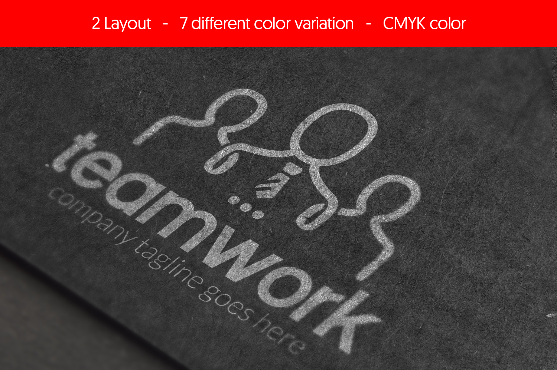 People Teamwork - Logo Template