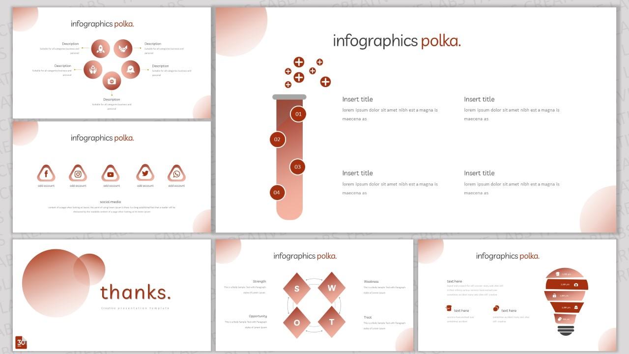Polka PowerPoint Template
