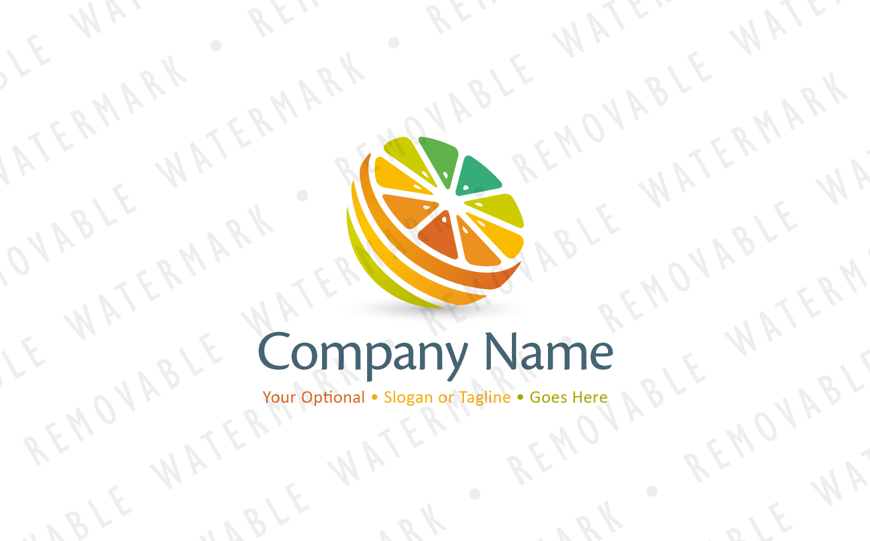 Spectrum of Vitamins Logo Template