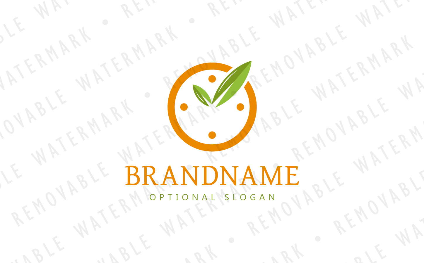 Eco Time - Logo Template