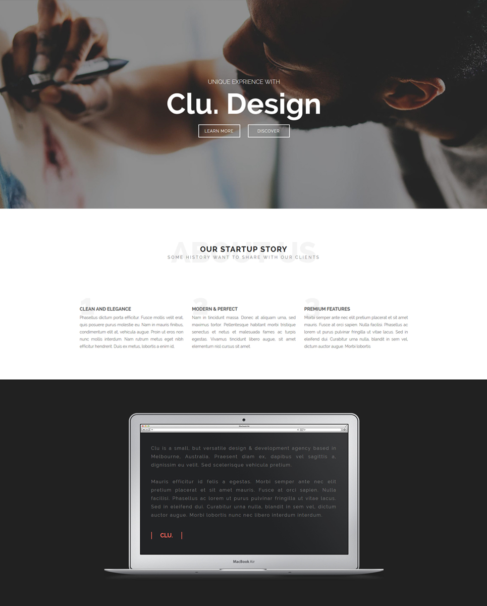 Business Muse Template | Template Shop