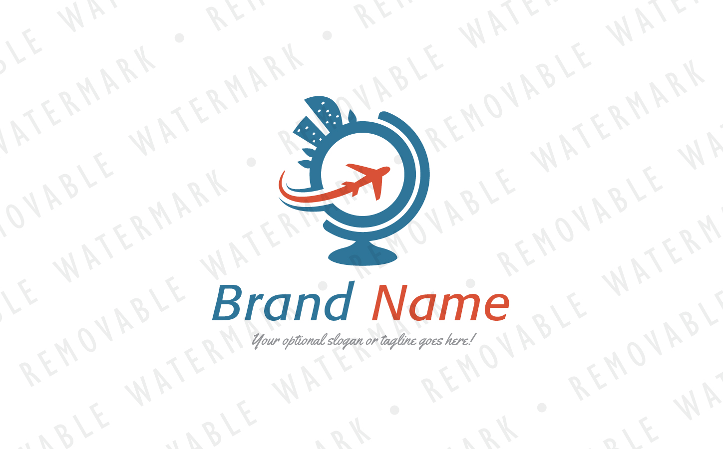 Resorts of the World - Logo Template