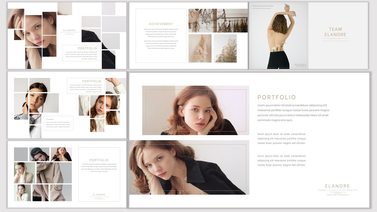 Elanore PowerPoint Template