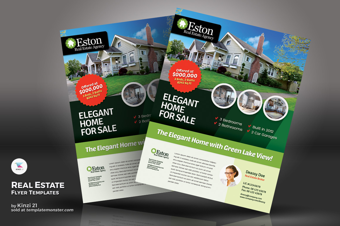 Real Estate Flyer Corporate Identity