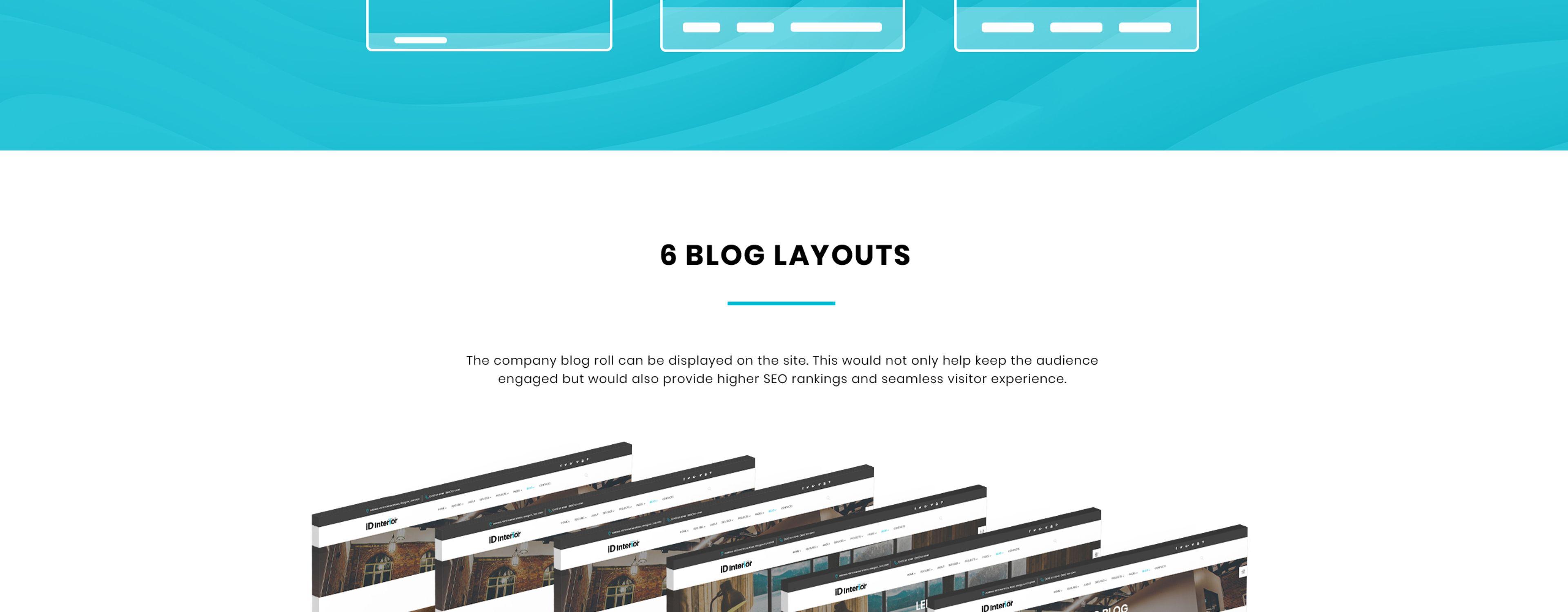 iD Interior Website Template