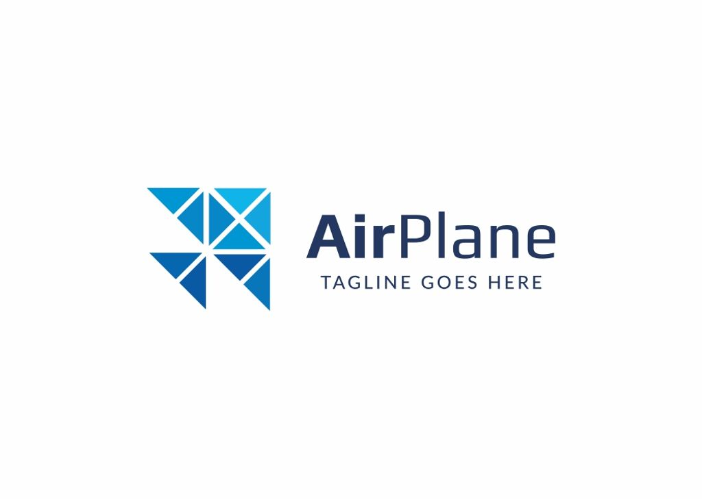 AIRPLANE - Logo Template