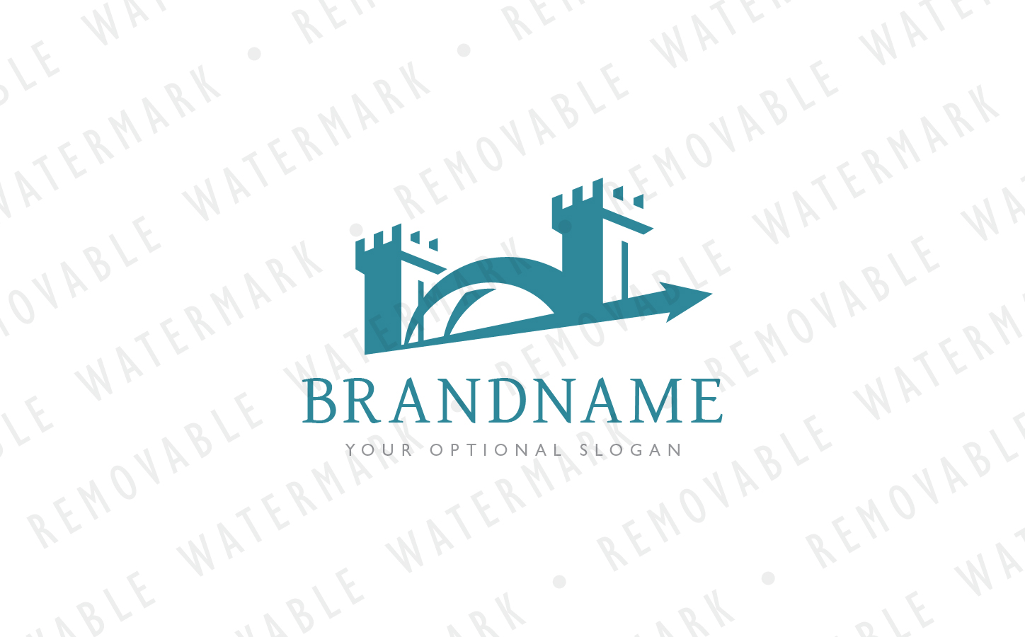 Tower Bridge - Logo Template