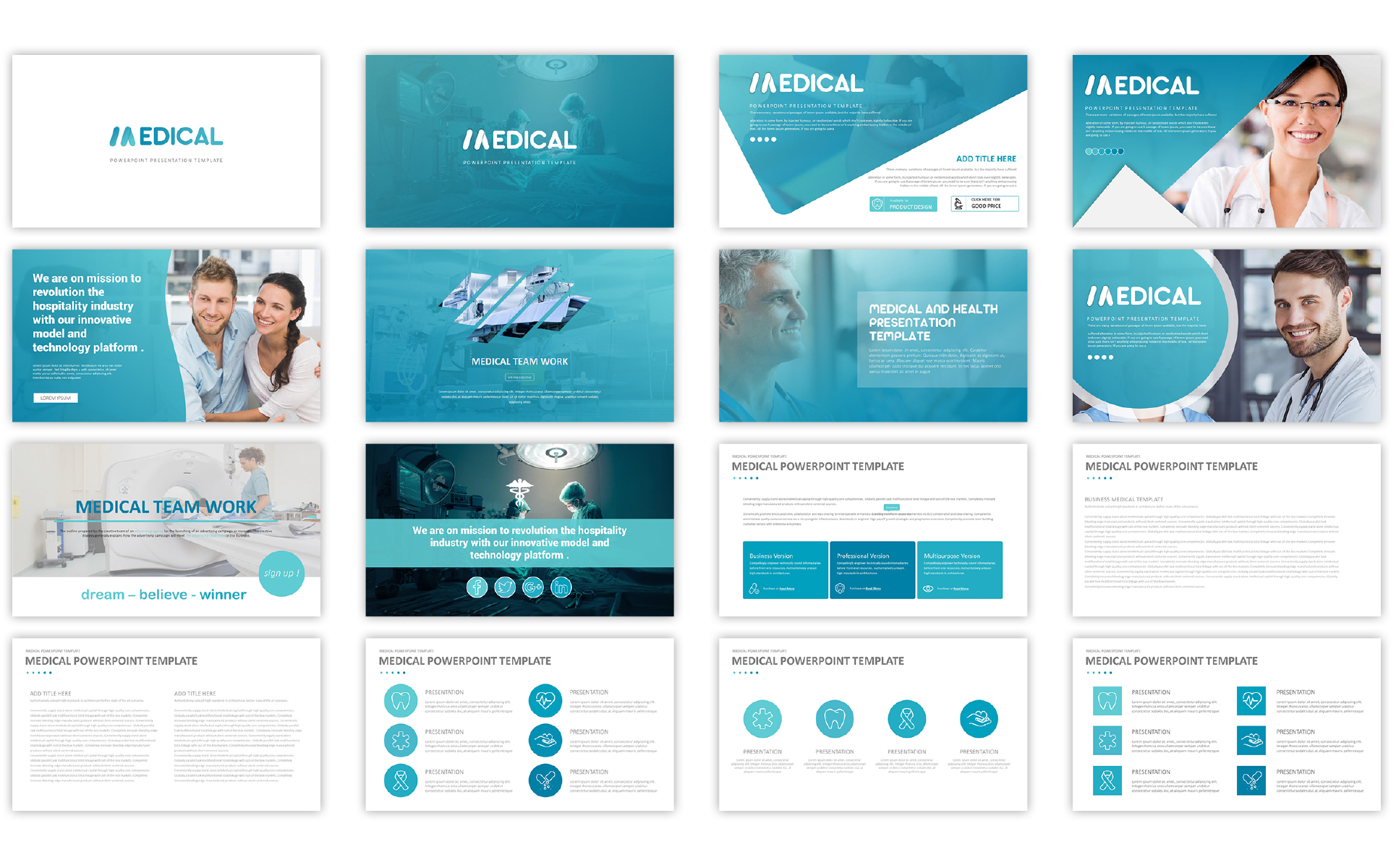 Medical Presentation Template PowerPoint Template