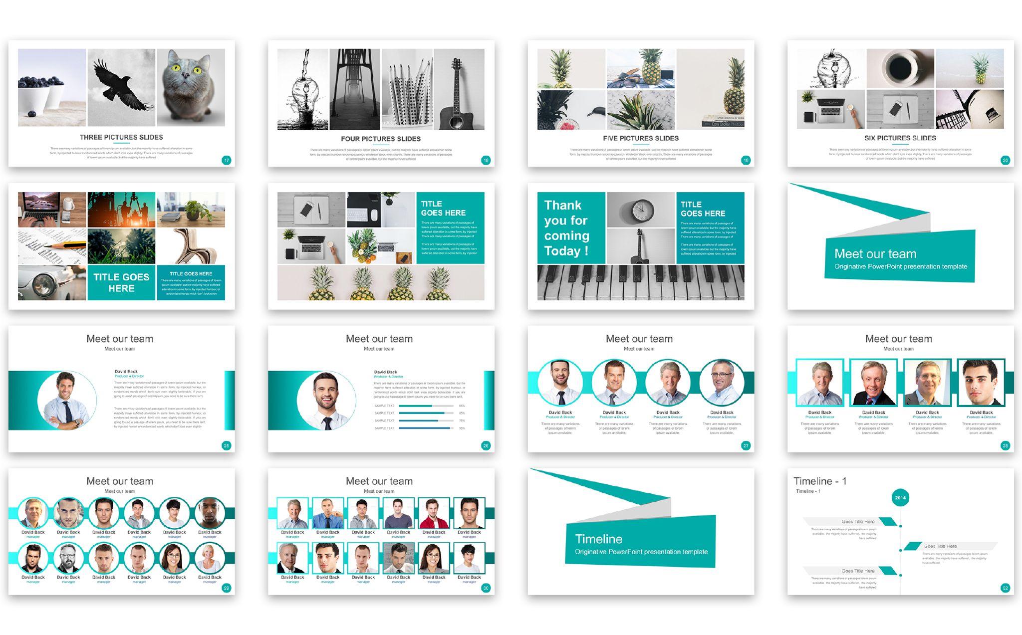 Rixus Presentation PowerPoint Template