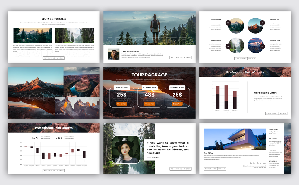 Spencer - Creative PowerPoint Template