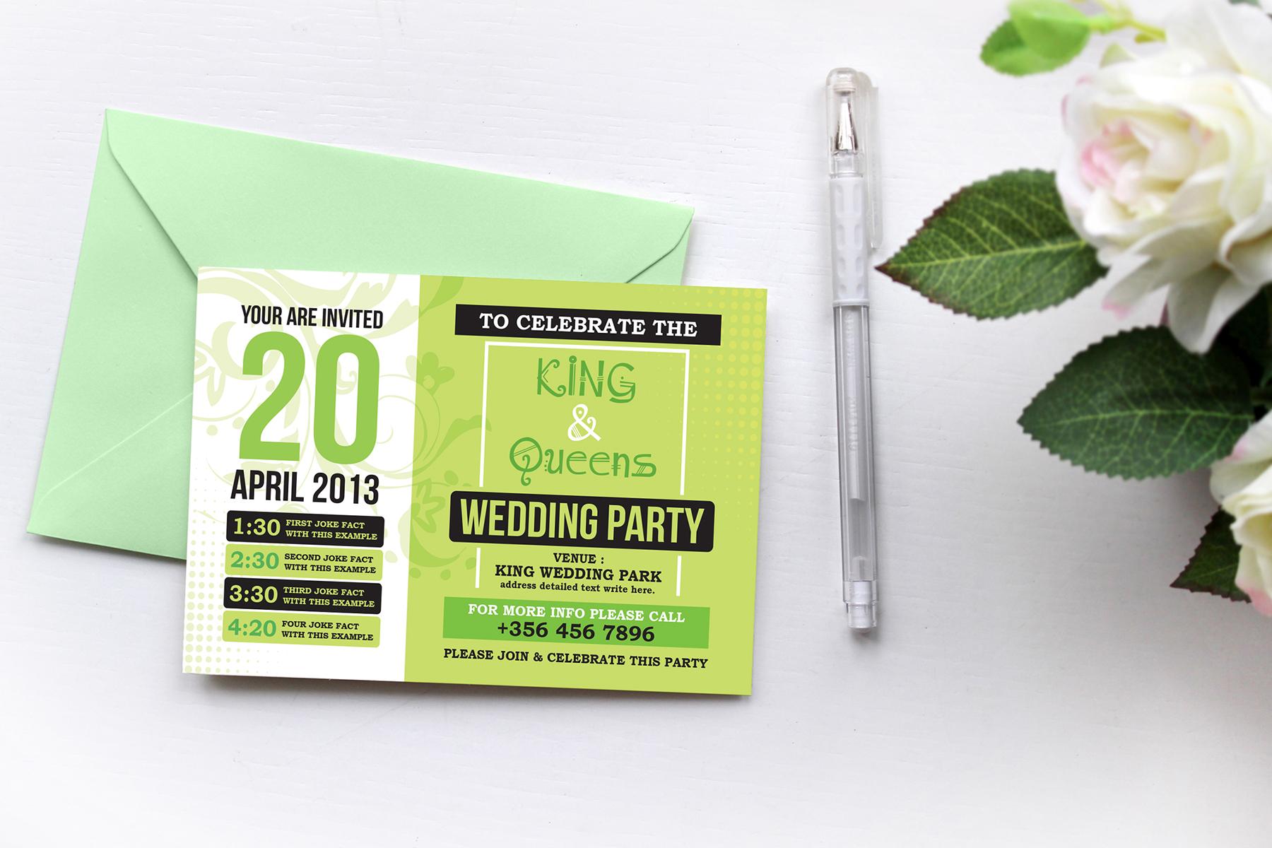 Wedding Invitation Suite Corporate Identity
