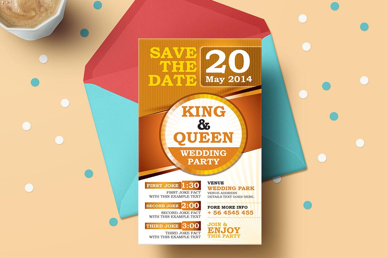 Save The Dates Wedding Invitation Card Corporate Identity