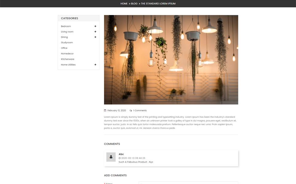 Eka Multipurpose OpenCart Template