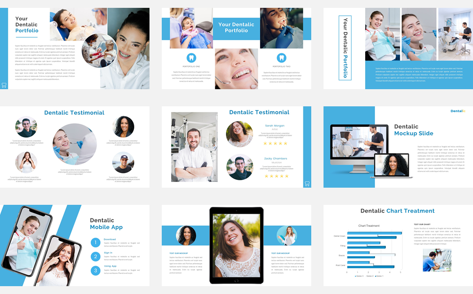 Dentalic - Dental Care PowerPoint Template