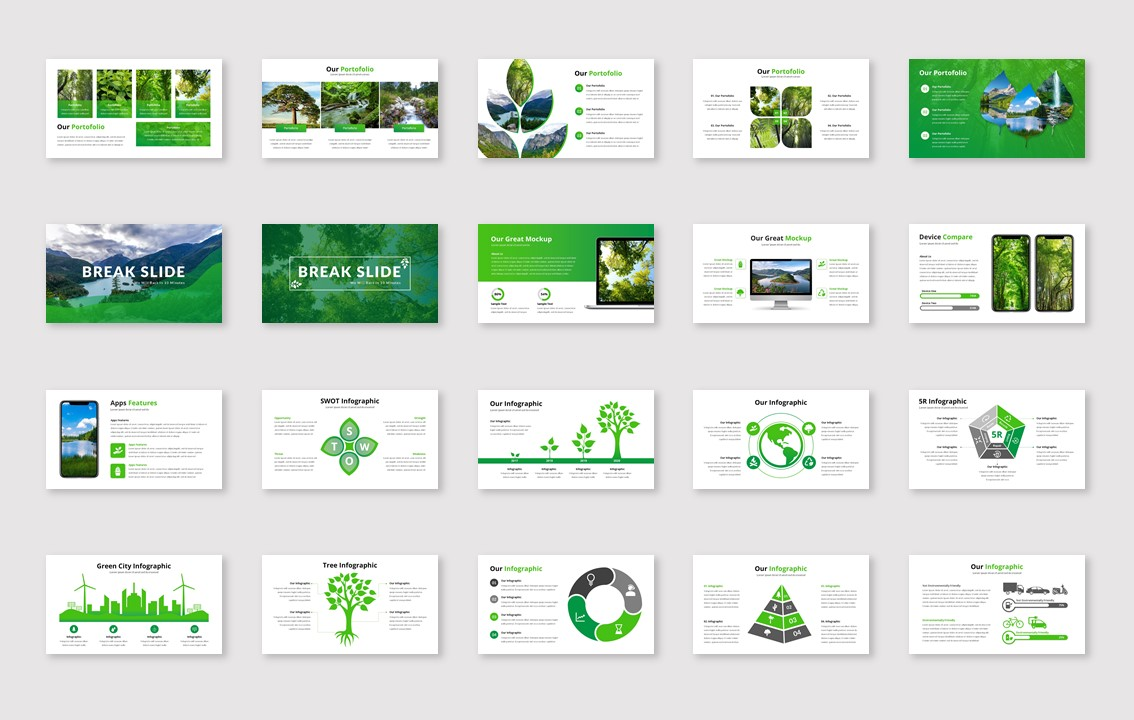 Natura PowerPoint Template