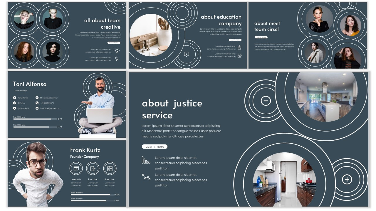Cirsel PowerPoint Template