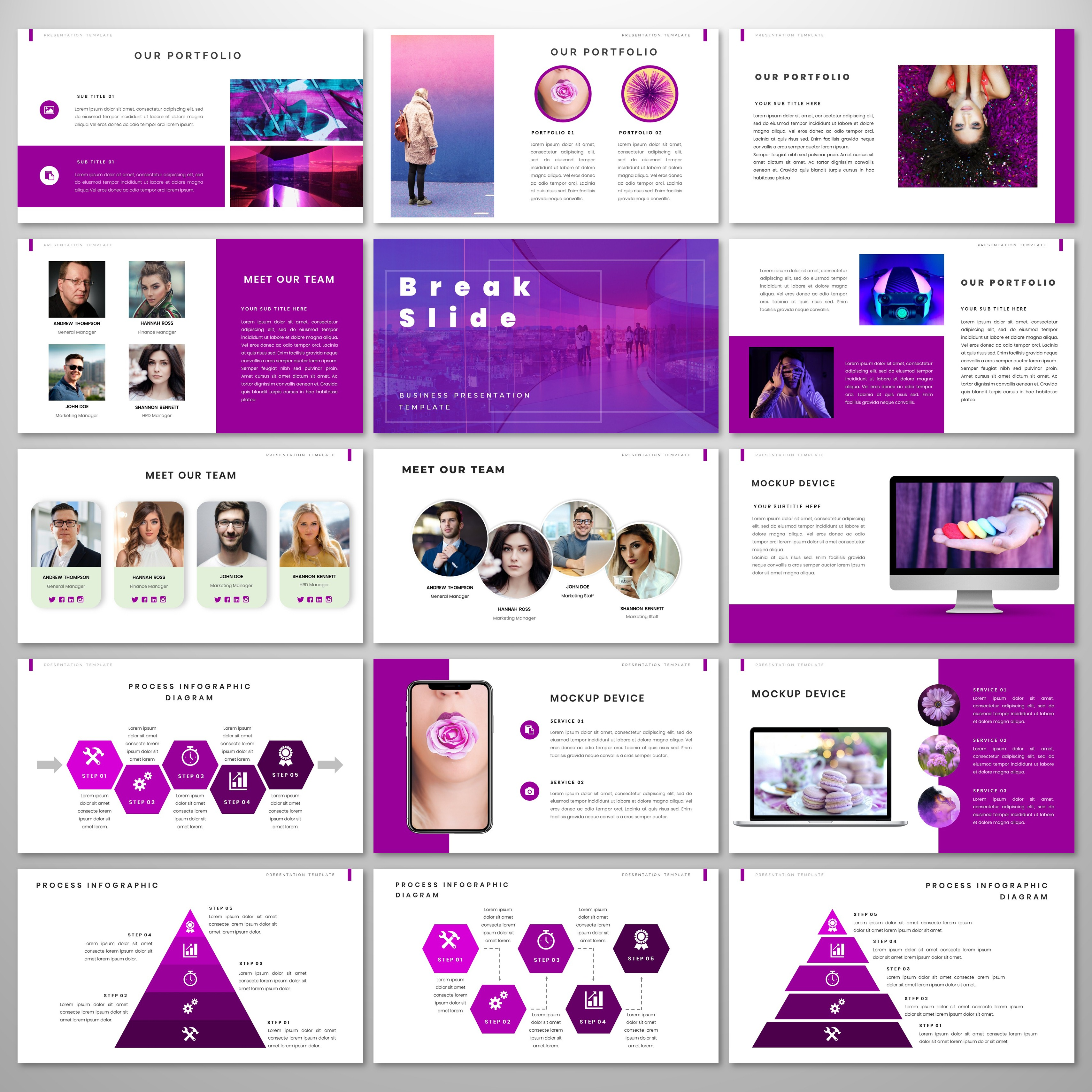 JazzFit PowerPoint Template
