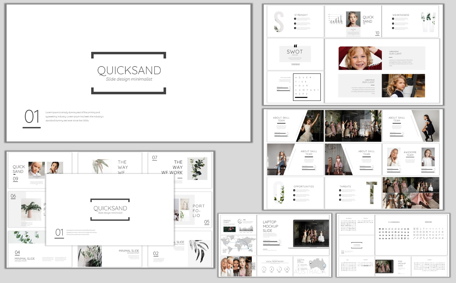 Quicksand PowerPoint Template