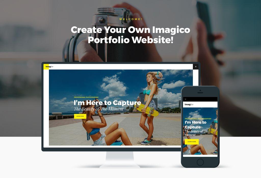 Imagico - Photographer Portfolio WordPress Theme