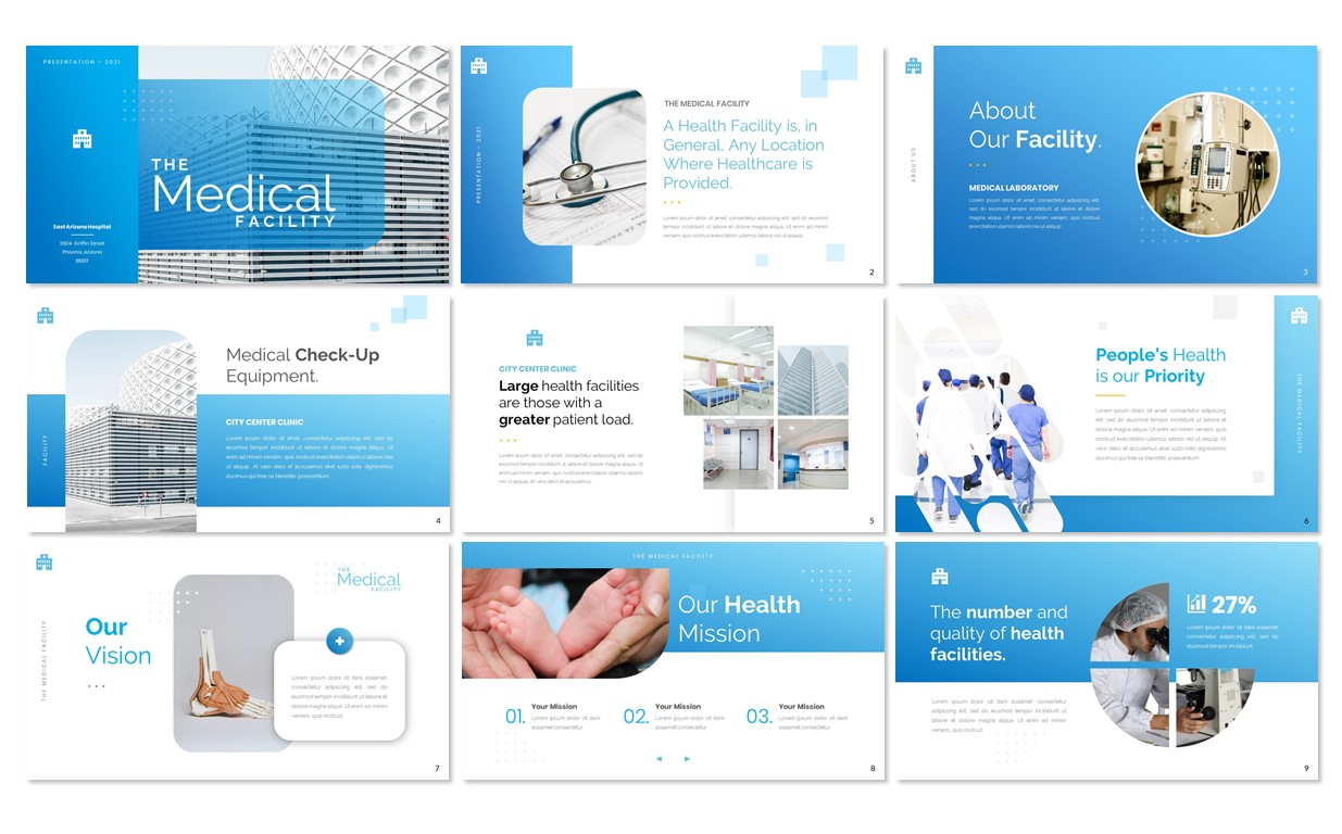 MEDICAL - Health Facility Presentation PowerPoint Template