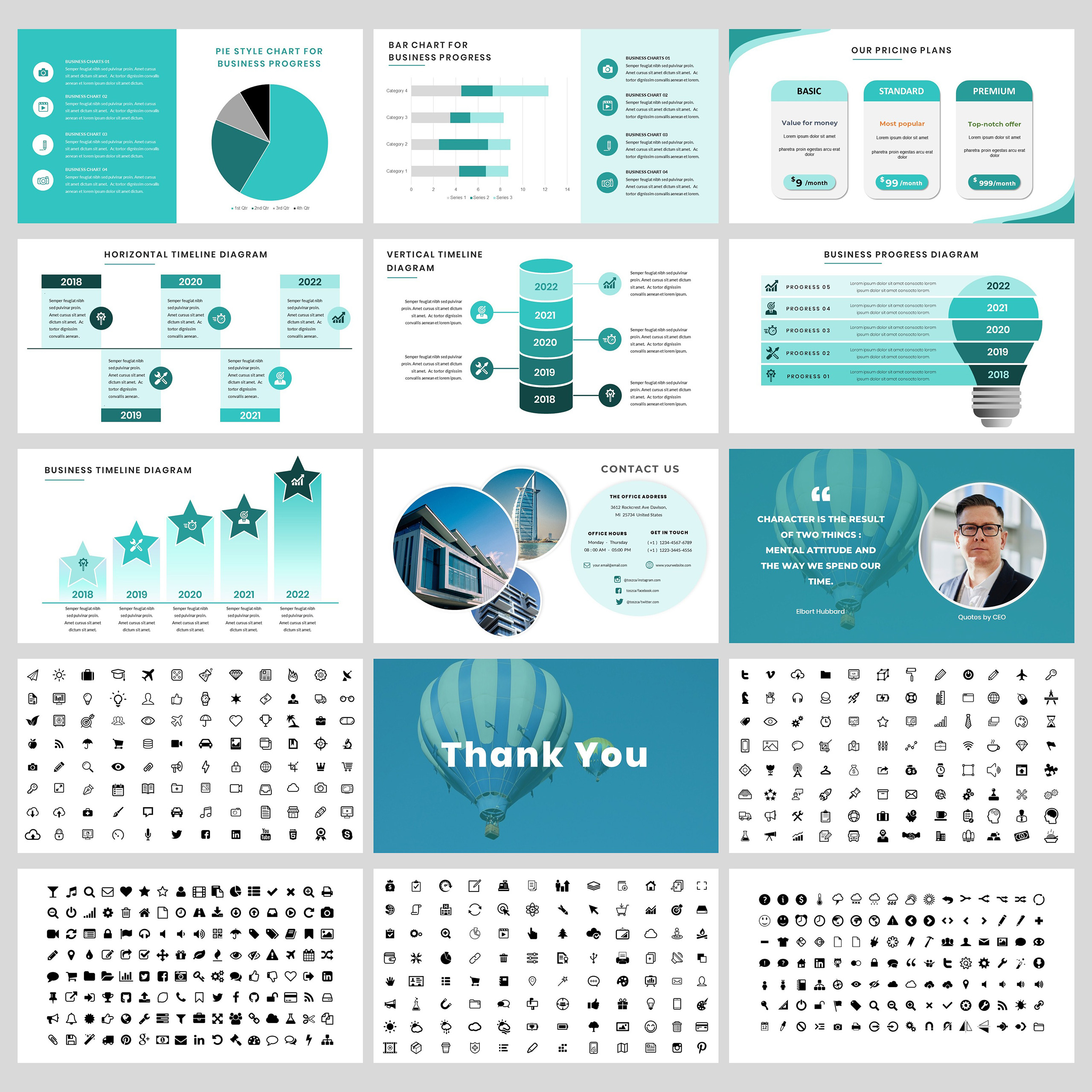 Toszca PowerPoint Template