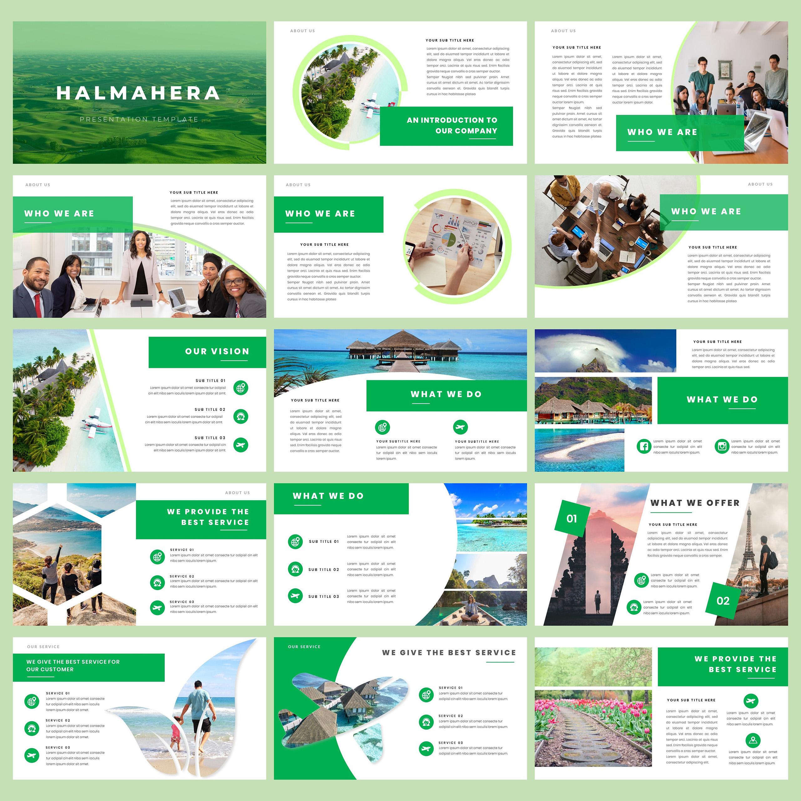 Halmahera PowerPoint Template