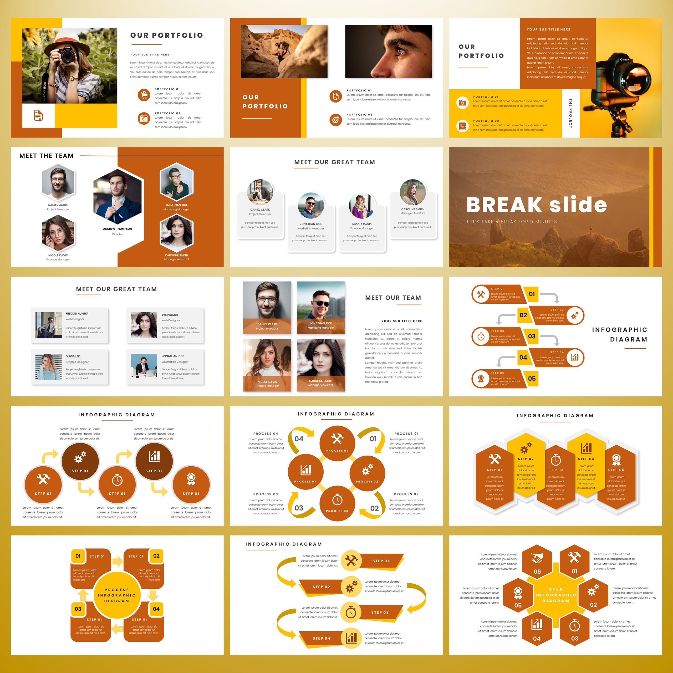 Rinjani PowerPoint Template