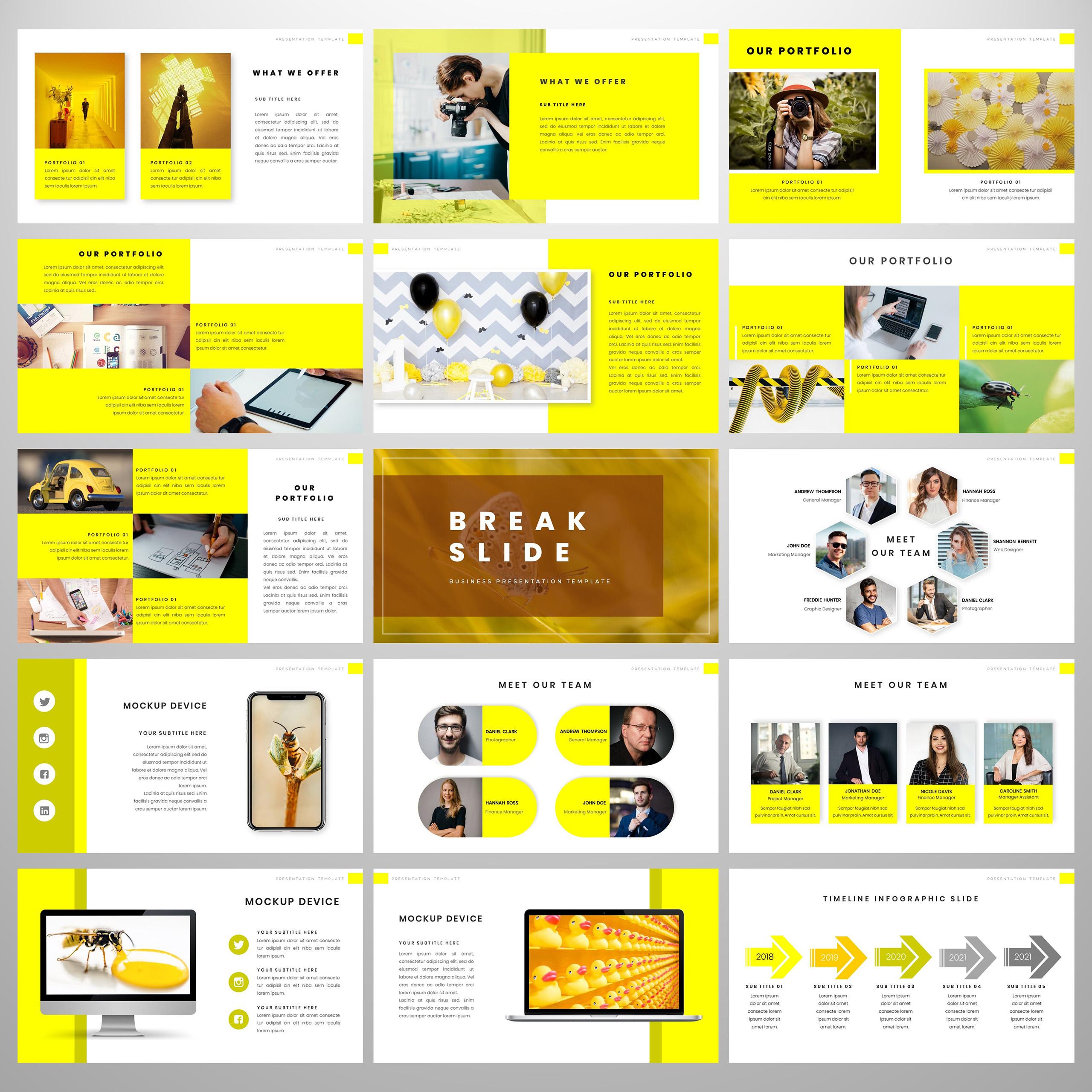 Pixmann PowerPoint Template