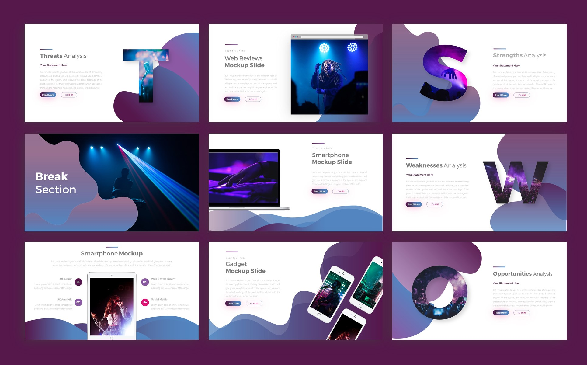 Ednovate Creative Event Presentation PowerPoint Template
