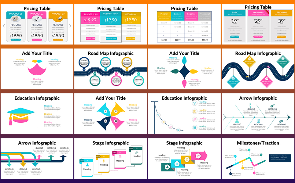 GS Infographic PowerPoint Template