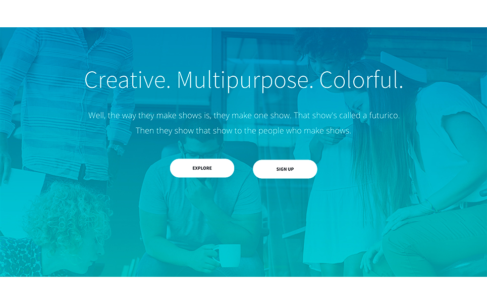 Futurico - Creative Multipurpose WordPress Theme