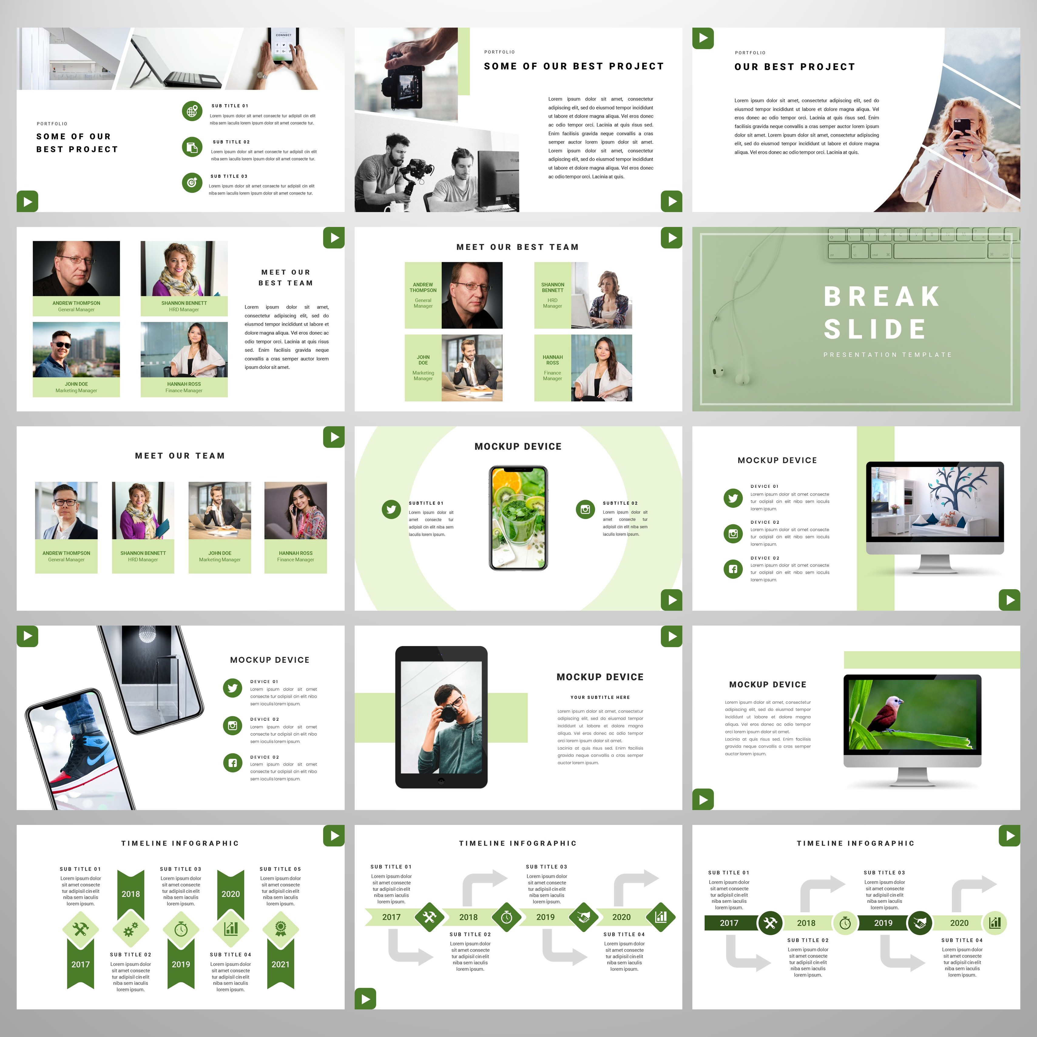 Borneo - Business PowerPoint Template