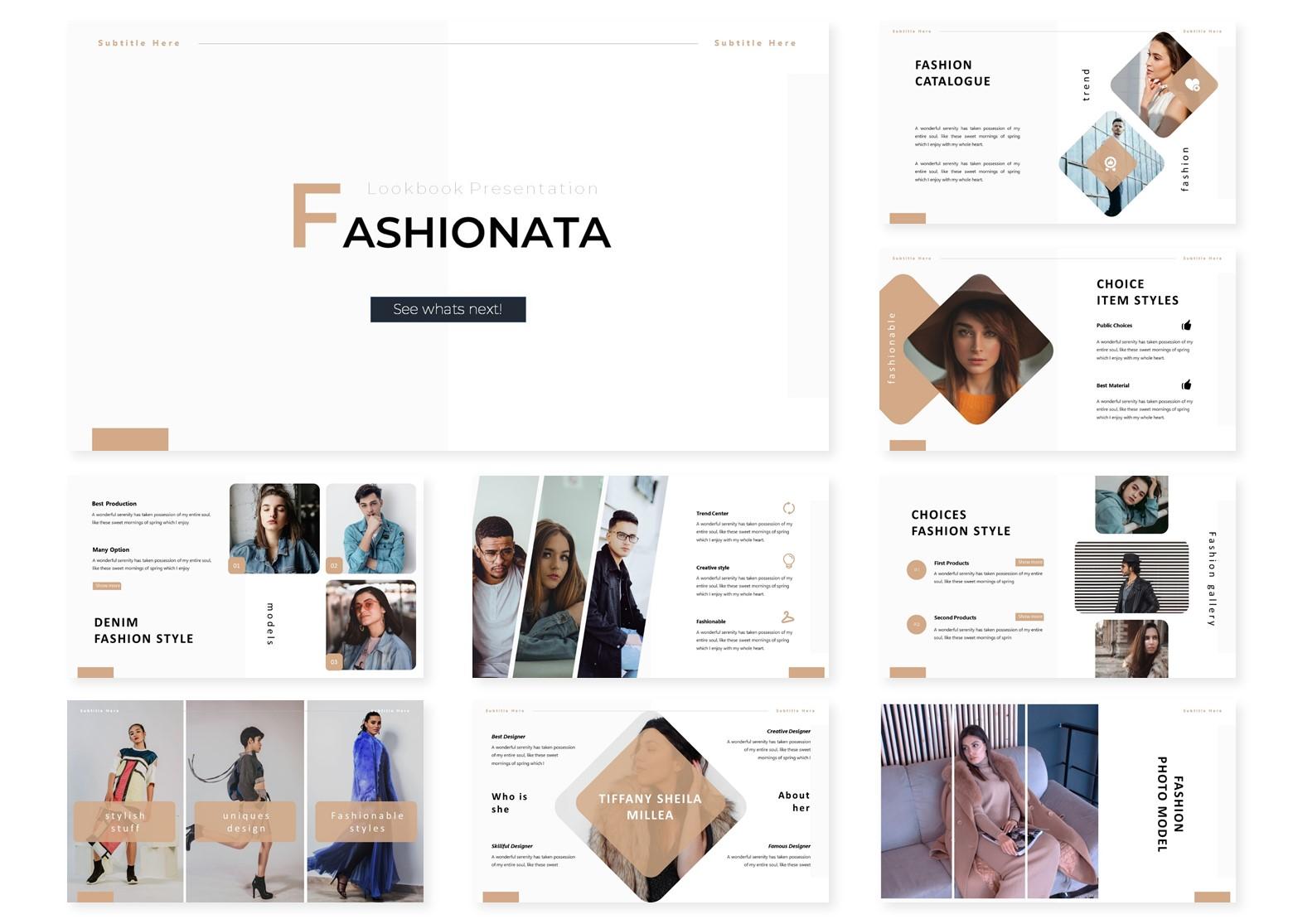 Fashionata | PowerPoint Template