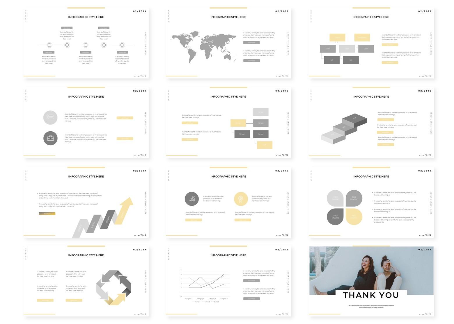 Happistuff | PowerPoint Template