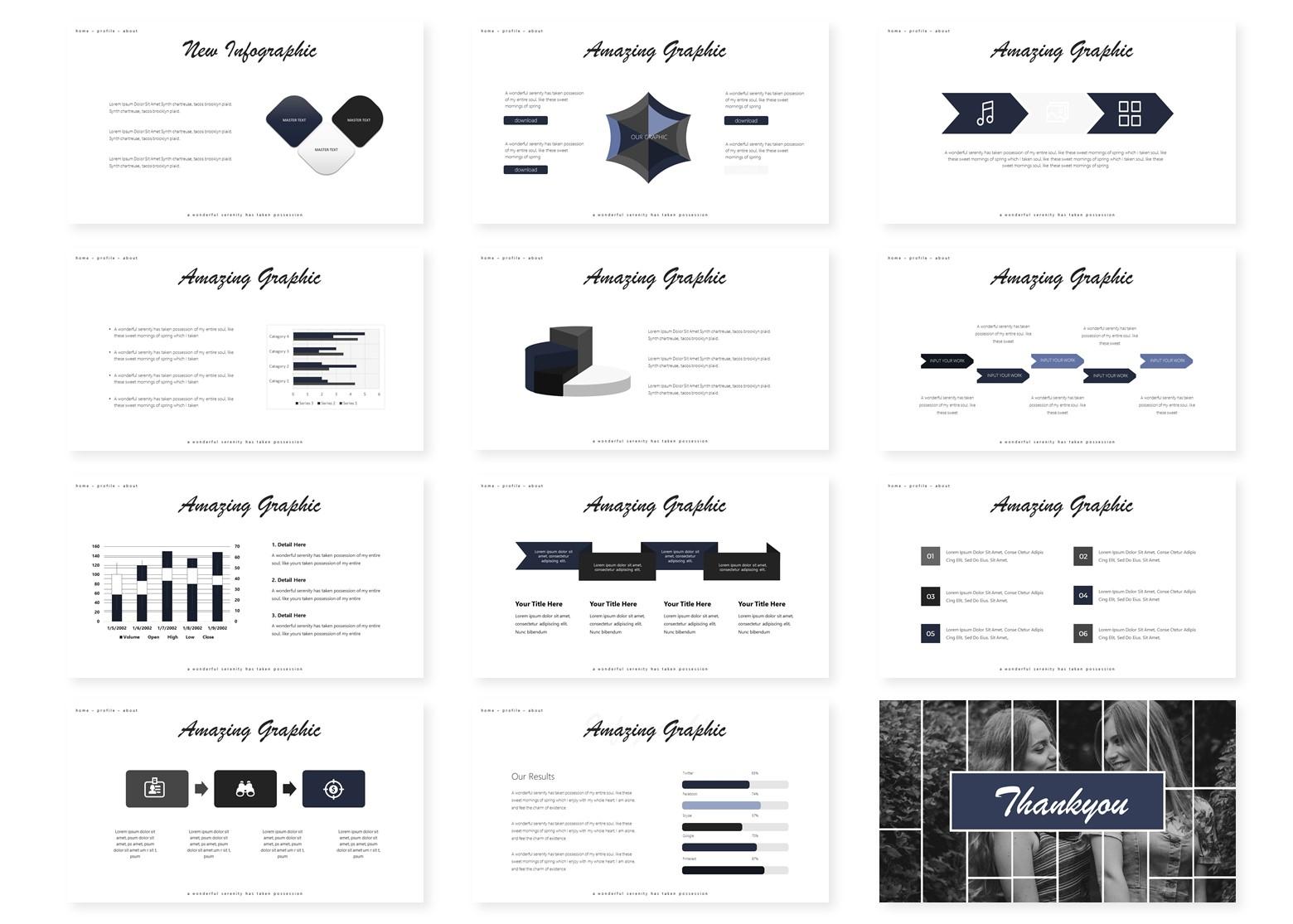 Modelsco | PowerPoint Template