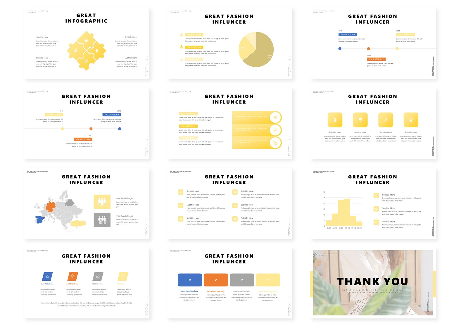 Outfiten | PowerPoint Template