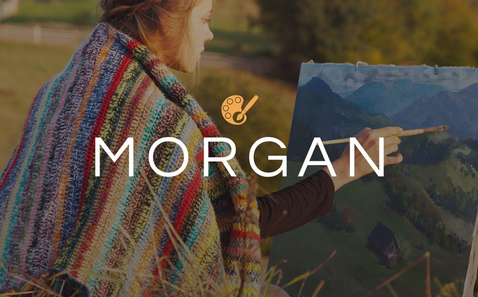 Morgan - Artist Portfolio Multipage HTML5 Website Template