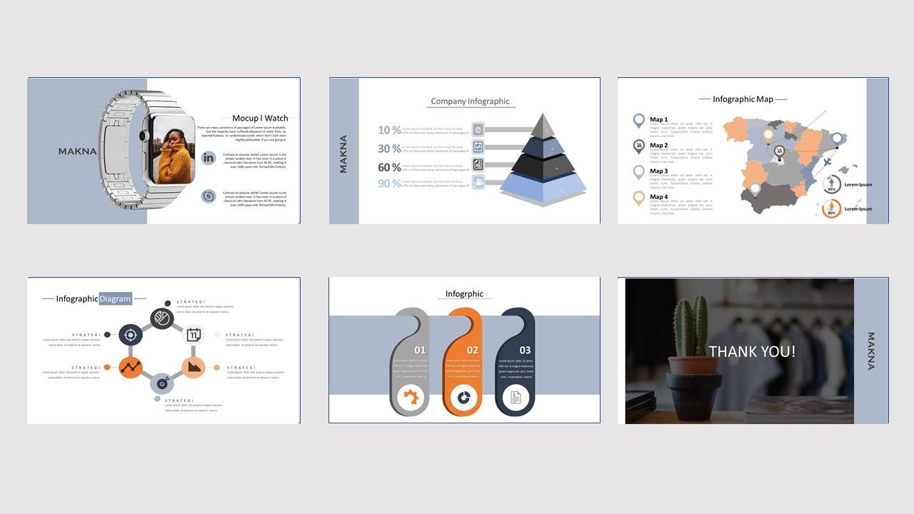 MAKNA Creative Business PowerPoint Template