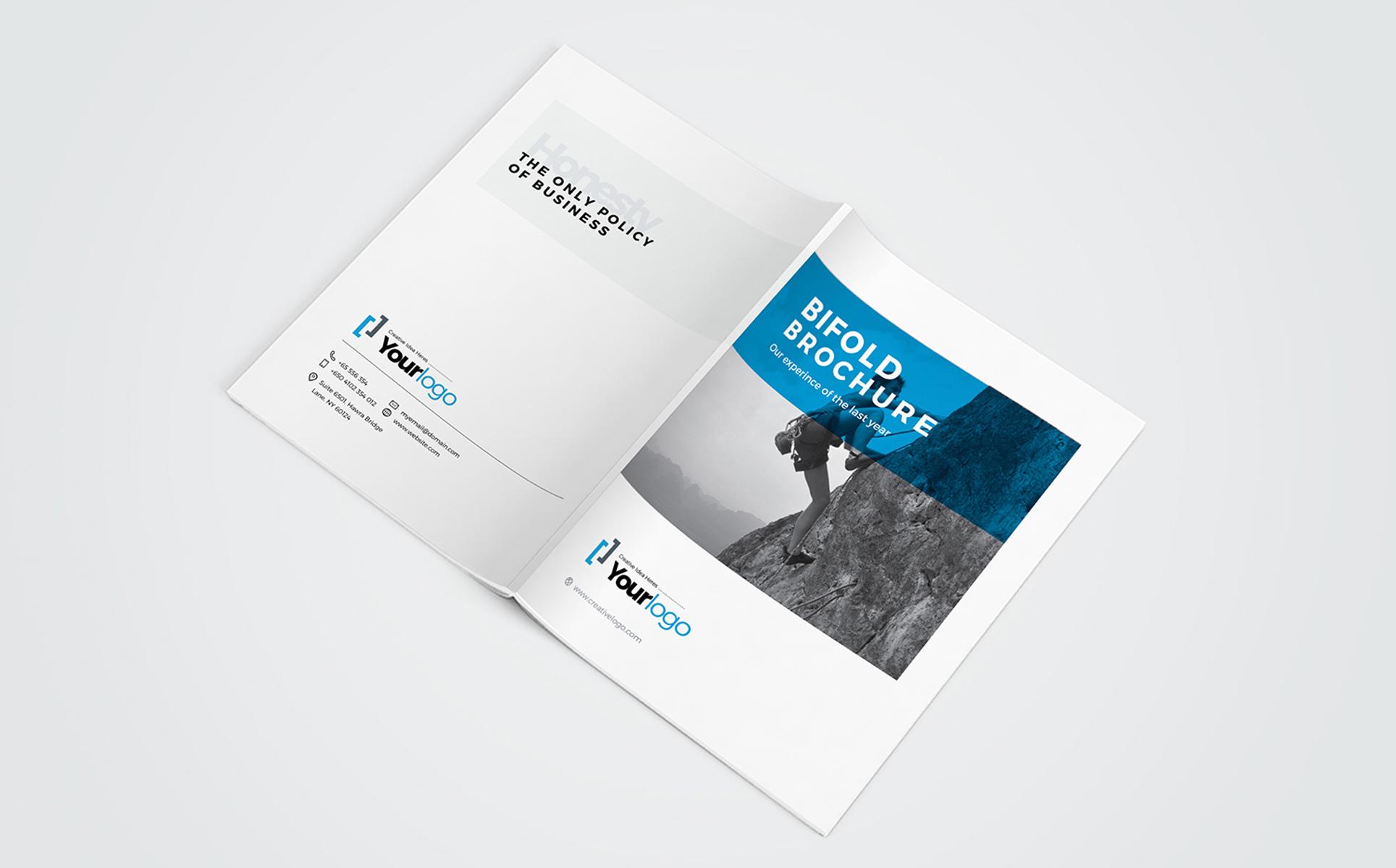 Company Profile Brochure - Corporate Identity