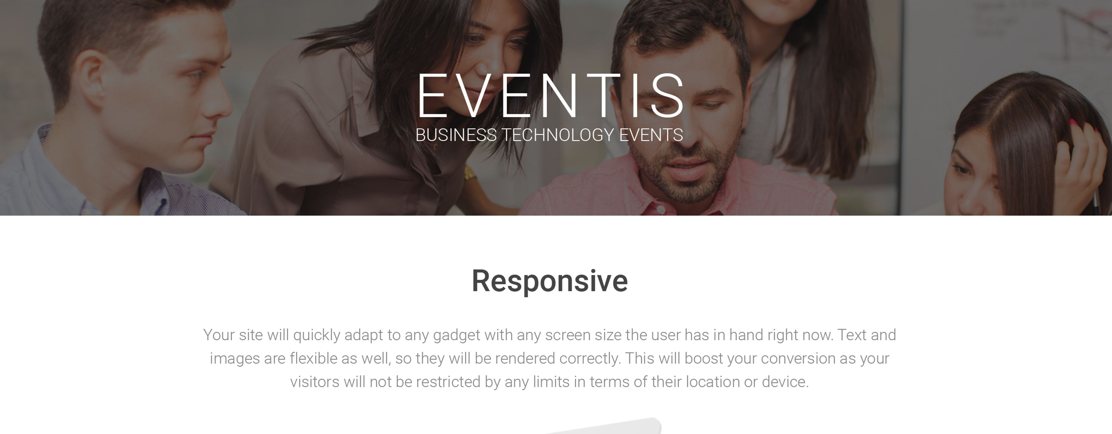 Eventis - Business Conference Joomla Template