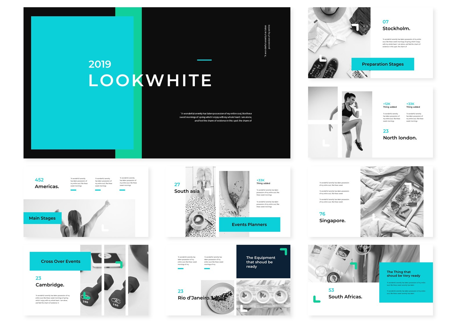 Lookwhite | PowerPoint Template