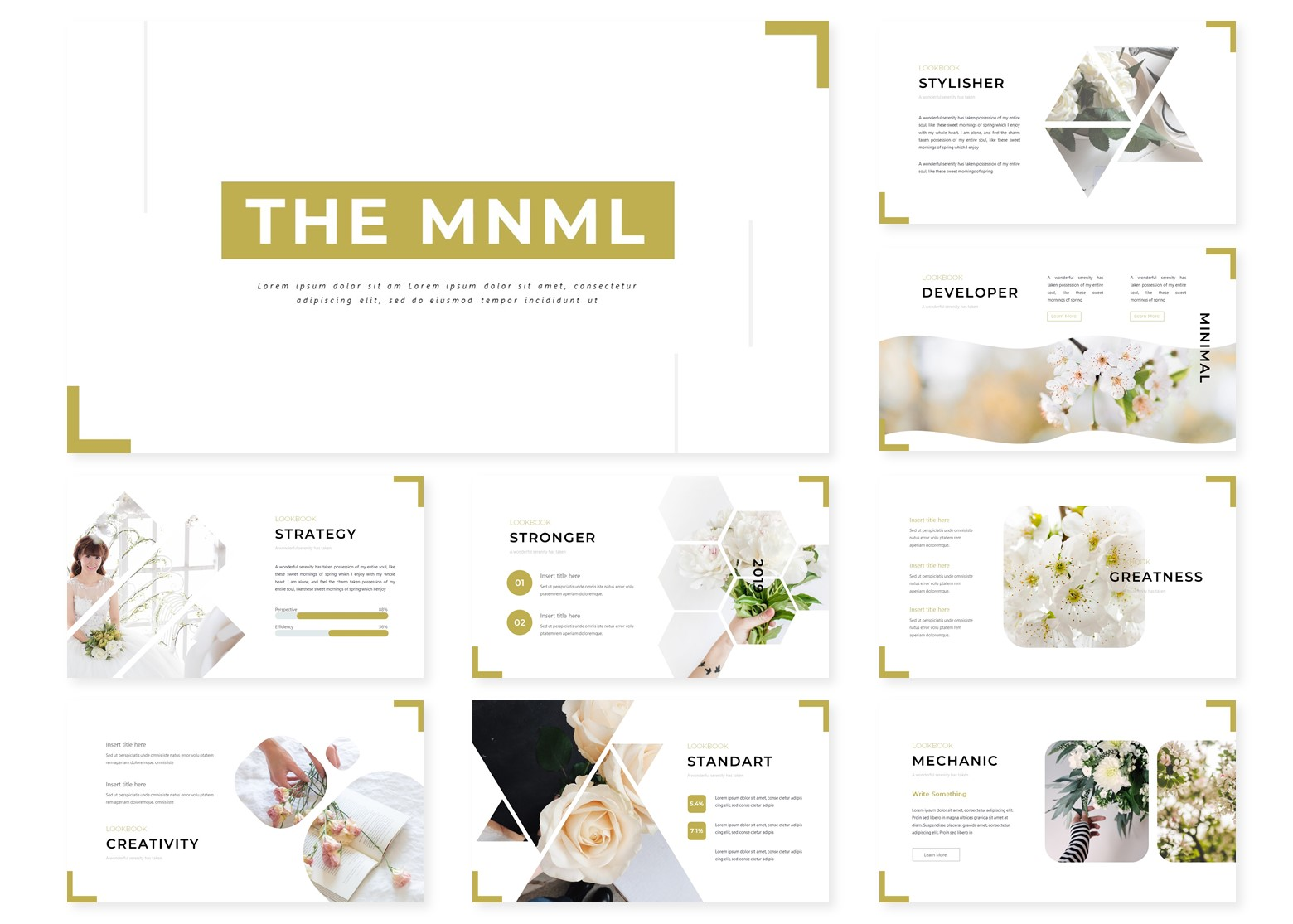 The Mnml | PowerPoint Template