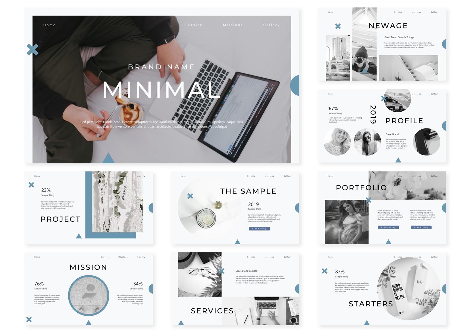 Minimal | PowerPoint Template