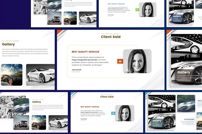 Automotiva - PowerPoint Template